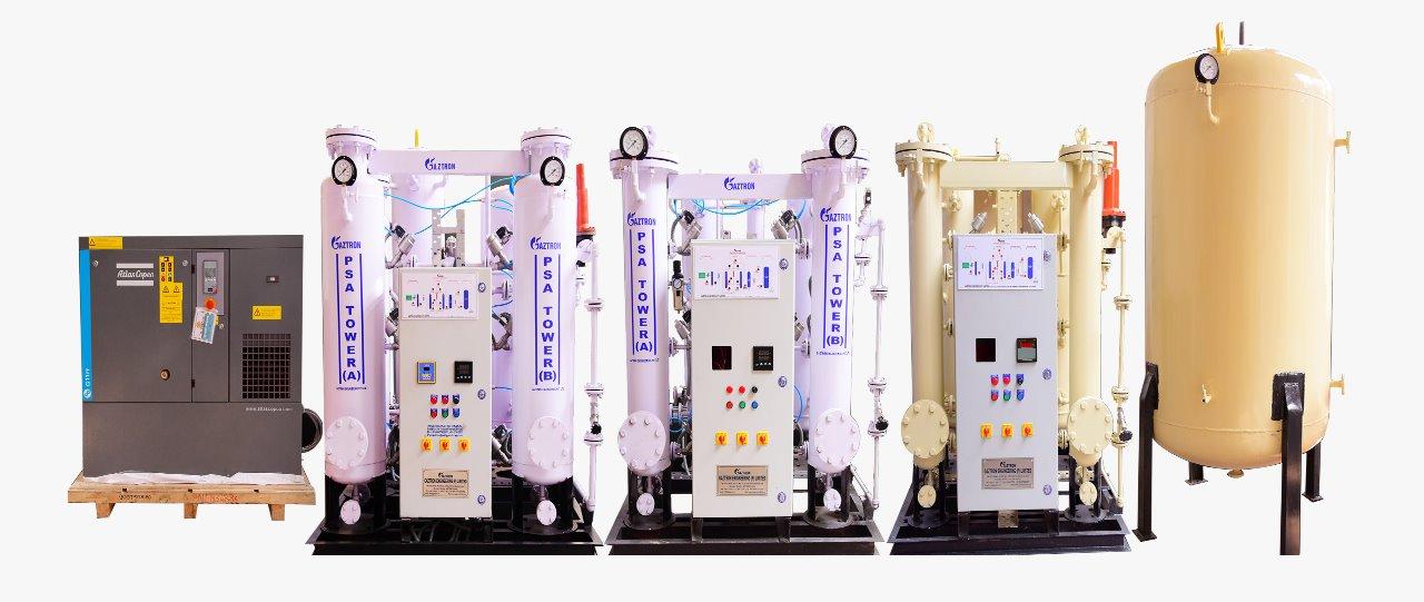 PSA Nitrogen Gas generators for Modified Atmosphere