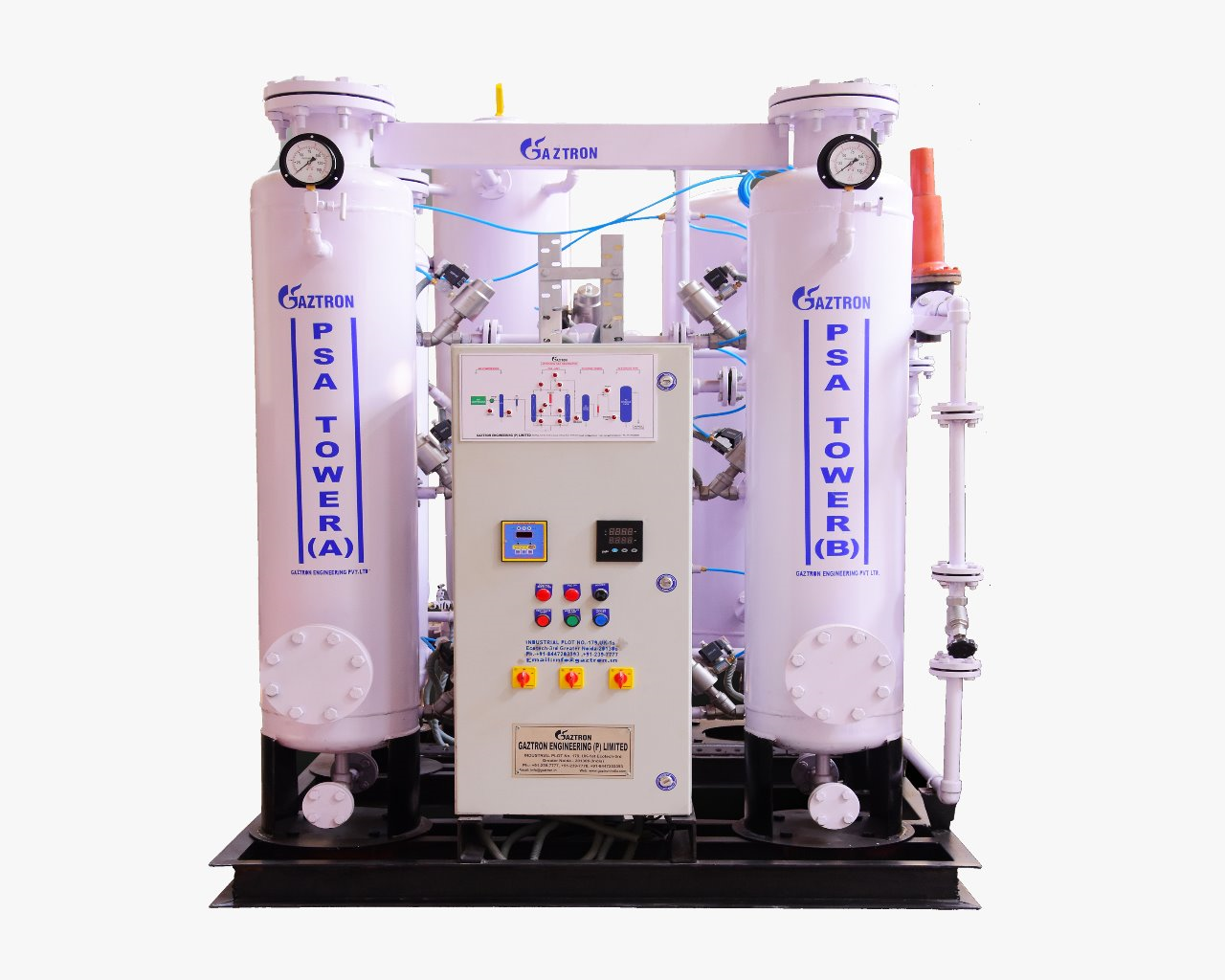 PSA Nitrogen Gas Generator for insecticide production unit