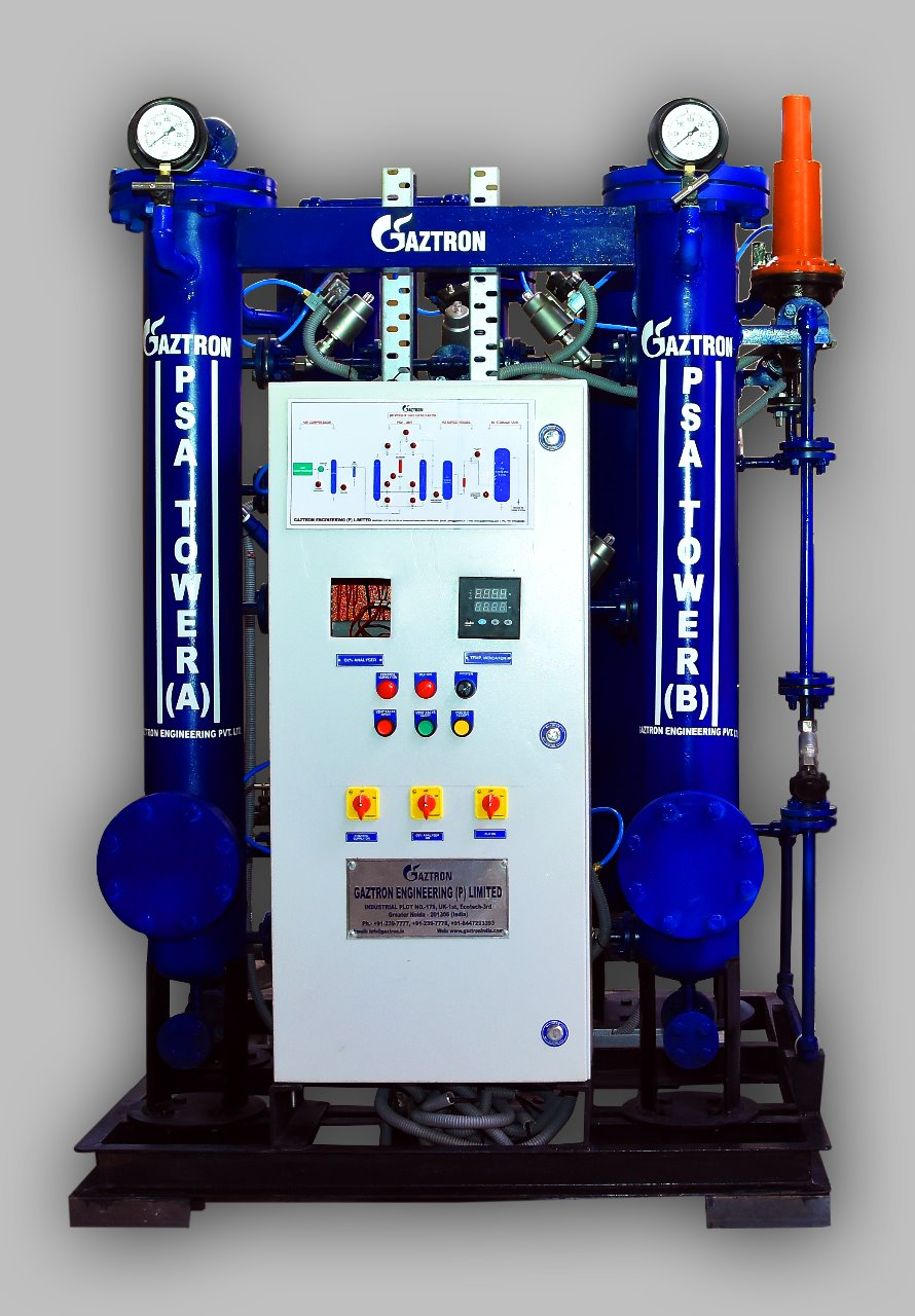 PSA Nitrogen Gas Generator for Heat Treatment Application