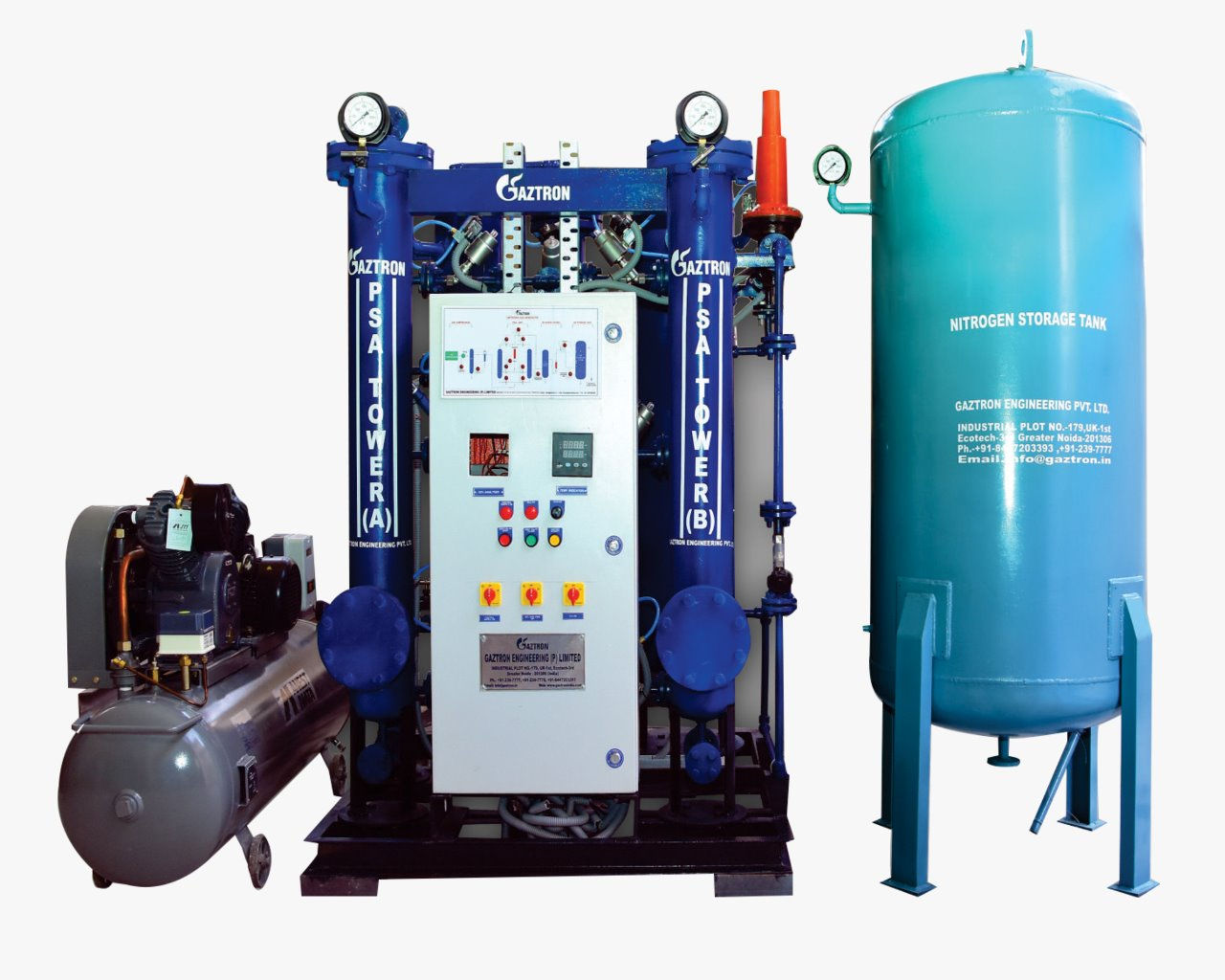 PSA Nitrogen Gas Generator for Bright Annealing