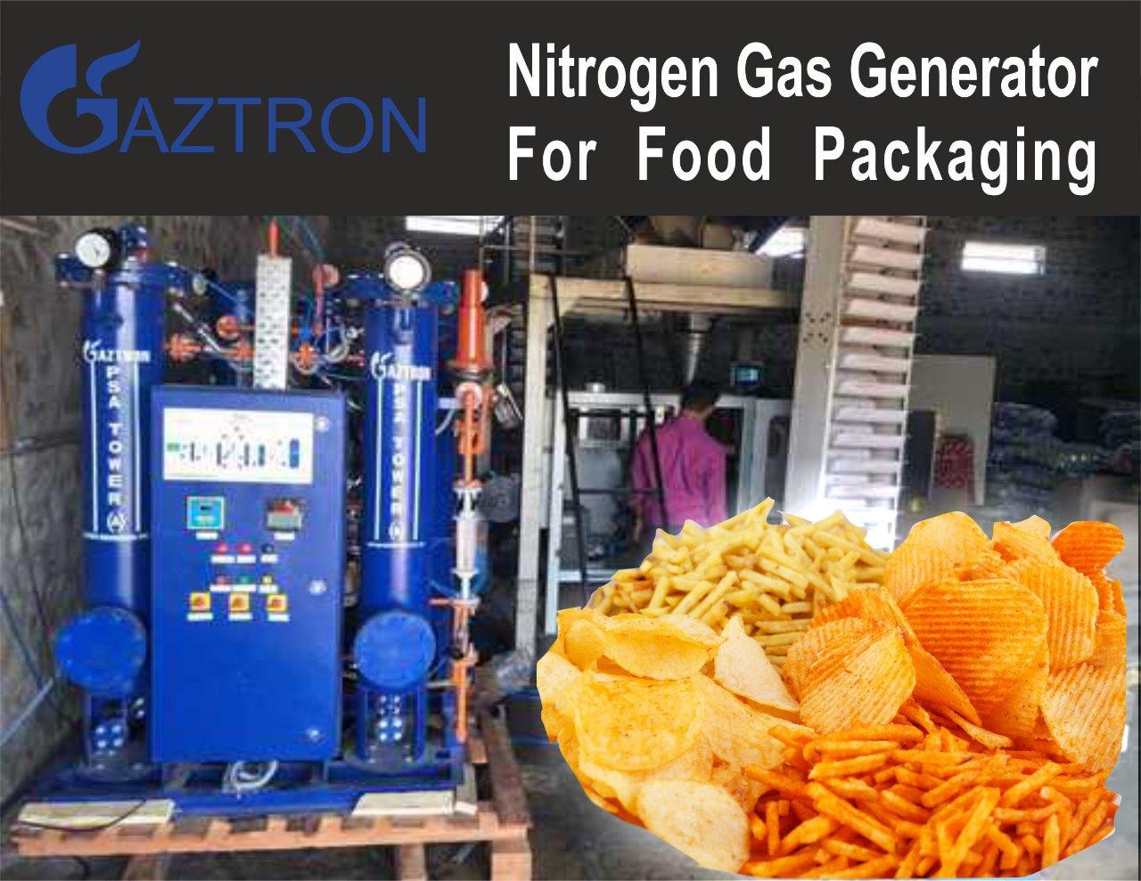 PSA Nitrogen Gas Generator for  Food Packaging